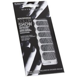 12 x Packs of Maybelline Color Show Fashion Prints Nail Stickers | Zebra Nights