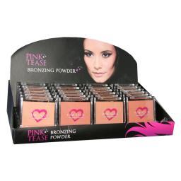24 x Pink Tease Bronzing Powder | 3 shades | On Display