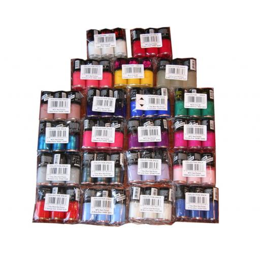 63 x Collection Work the Colour Nail Polish | 21 shades | RRP £130 |