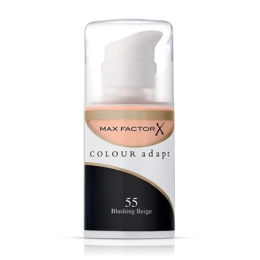 Max Factor Colour Adapt Foundation | Blushing Beige 55 | For a Flawless Finish