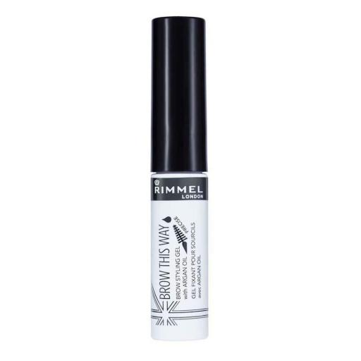 3 x Rimmel London Brow This Way Gels With Argan Oil | All Shade Clear