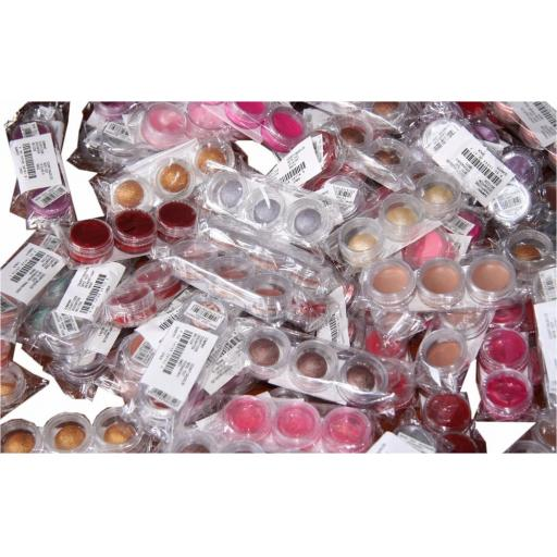 240 x Covershoot cosmetic sample pots | Inc. Lipgloss | Eyeshadow | Foundation