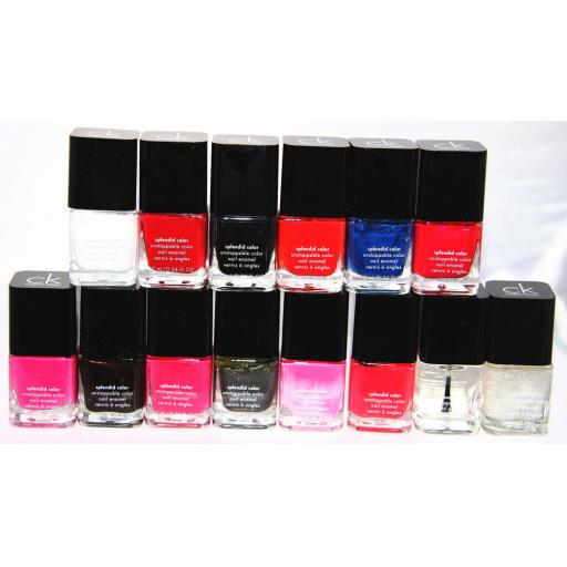 14 x CALVIN KLEIN SPLENDID COLOUR NAIL POLISH | RRP £245 | WHOLESALE COSMETICS