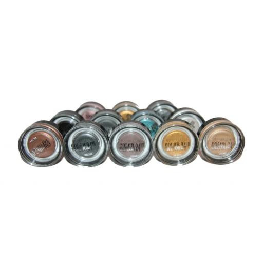 12 x Maybelline Colour Tattoo 24hr by Eyestudio | Assorted Shades | RRP £70