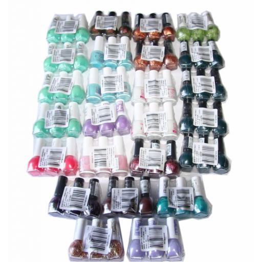 75 x Miss Sporty Nail Polish | 16 shades | RRP £150 | Wholesale