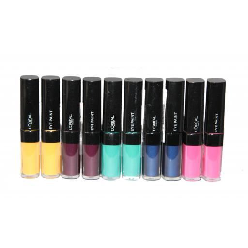 10 x L'Oreal Infallible Eyeshadow Paint | 5 Shades | RRP £60 | Liquid to Powder