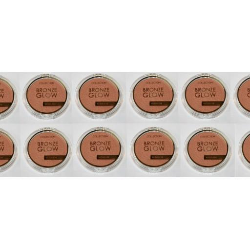 12 x Collection 2000 Bronze Glow ULTIMATE | Sunkissed | RRP £50 |