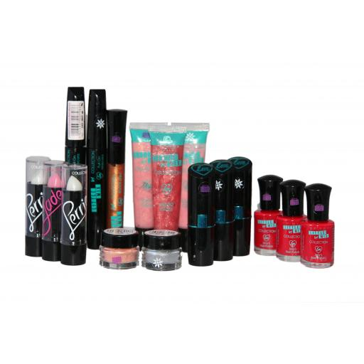 17 x Little Mix Makeup Assorted | Mascara | Lipstick | Nail Polish | Dazzle Me +