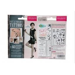12-x-Packs-Bourjois-Faux-amp-Fabulous-Tattoo-60-Temporary-Tattoo-in-each-pack