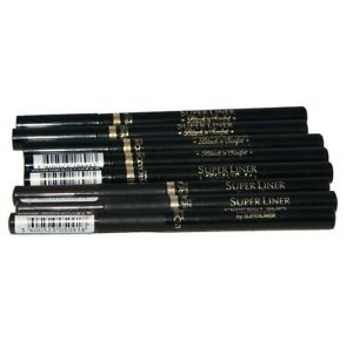 8 x Loreal Super Liner Assorted | Black and Sculpt | Perfect Slim Brown