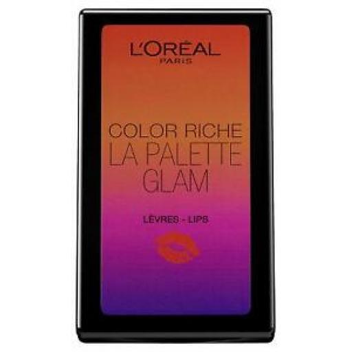 L'OrÈal Paris Color Riche La Palette | Glam | Lip Palette