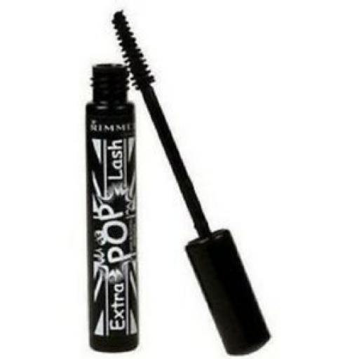 12 x Rimmel Extra Pop Lash Mascara | 003 Pop Black | Lash Building Mascara