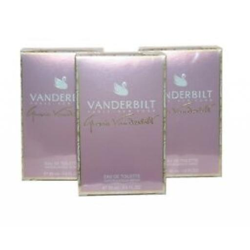 3 x Vanderbilt Eau de Toilette Spray for Women 30ml