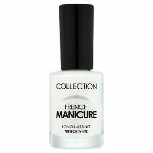 3 x COLLECTION French Manicure Nail Polish | French White | Long Lasting
