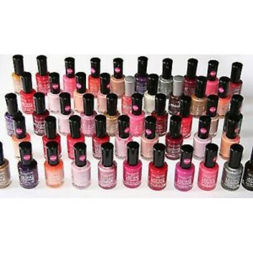 50 x Collection 2000 Lasting Colour Nail Polish | RRP £150+ | Wholesale