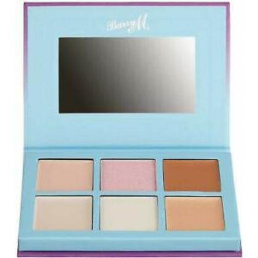 Barry M | Cosmic Lights | Highlighting Palette | 6 Cream and Powder Shades |