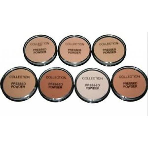 Collection Pressed Powder 17g | 7 shades available | Inc Ivory, Daydream, Warm B