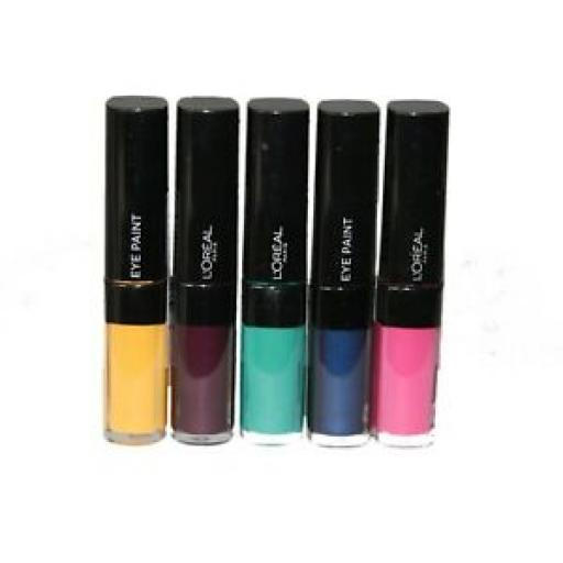 10 x L'Oreal Infallible Eyeshadow Paint | 5 Shades | RRP £60 | Liquid to Powder