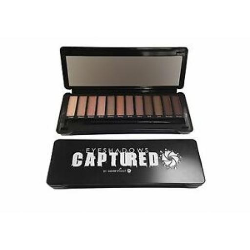 Covershoot Captured Eyeshadow Palette |12-Piece