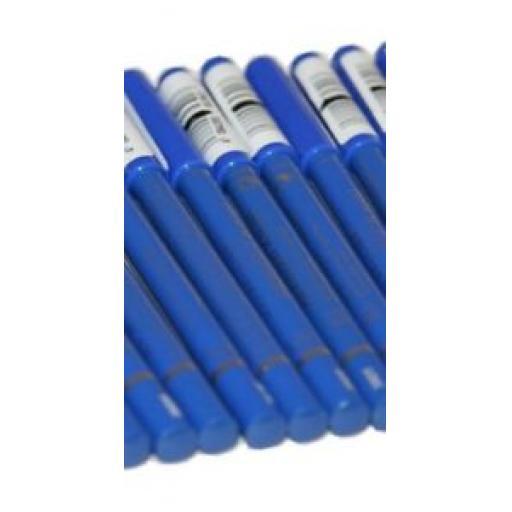 6 x Maybelline Expression Kajal Eye Liner Pencils | Azur Blue