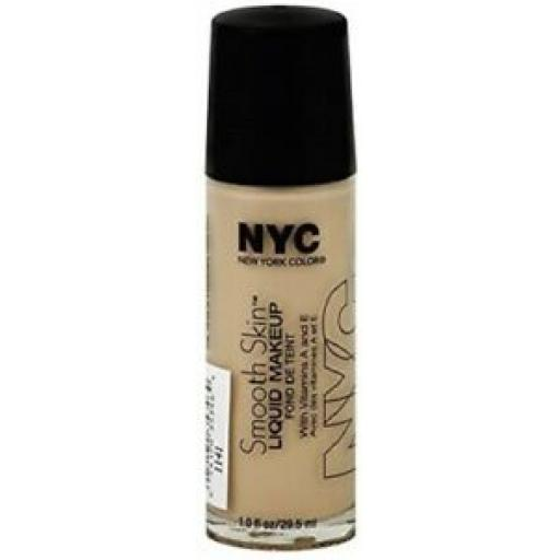 NYC Smooth Skin Liquid Make up | Nude | Lightweight | Blendable | All Skin Types