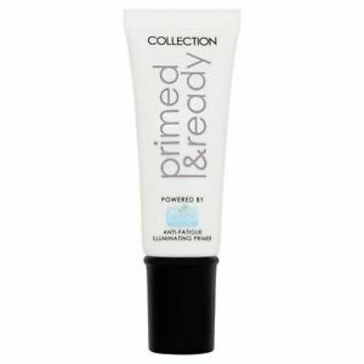 Collection Primed and Ready Anti Fatigue | Illuminating Primer | Witch Hazel |