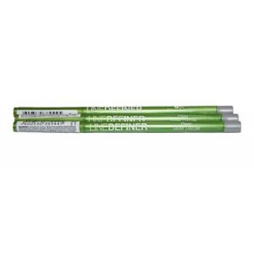 3 x Maybelline Line Definer | Grey | Silver Dazzle | Job Lot