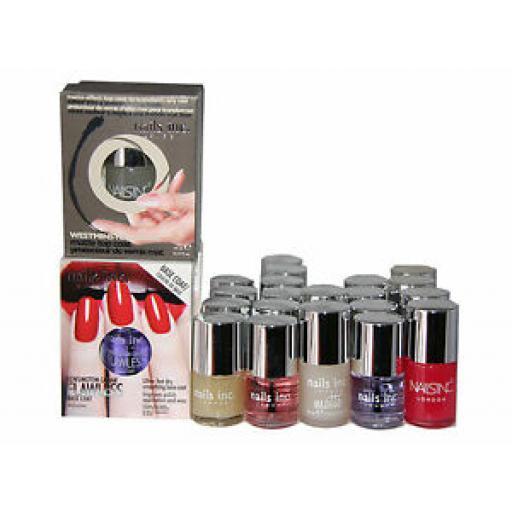 24 x Nails Inc Nail Treatments Polish | 6 Types | RRP £336 | Strong & Healthy