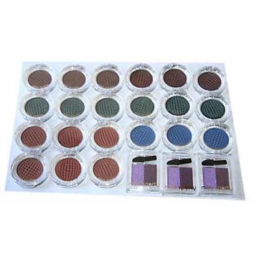 24 x Miss Sporty Studio Colour Mono Eyeshadow | Assorted Shades | RRP £48