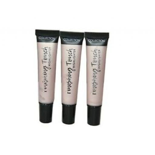 3 x Collection Finishing Touch Highlighter | Gleam 1 | Lightweight & Creamy
