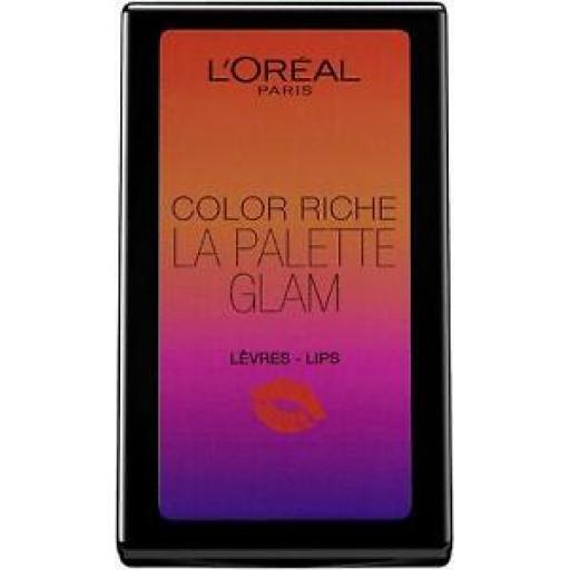 L'OrÈal Cosmetics Colour Riche La Palette Glam | In built Mirror | 6 Shades