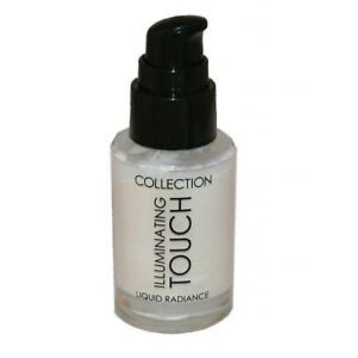 3 x Collection Illuminating Touch Liquid Radiance Primer | 1 Golden