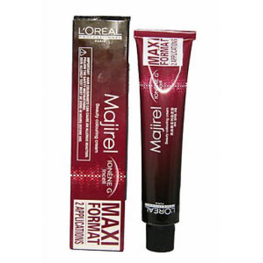Loreal Majirel 100ml | Double Size Tube | Permanent Hair Colour No 4.45