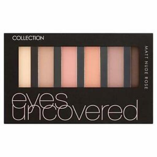 Collection Eyes Uncovered Palette | MATT NUDE ROSE | Your Eyes Do The Talking |