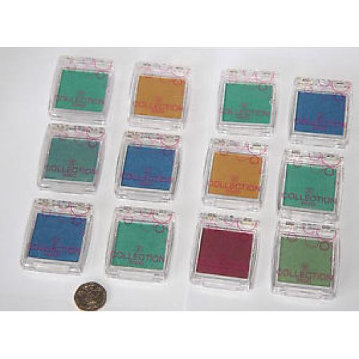 12 x C2000 COLOUR INTENSE SOLO EYESHADOW - MIXED SHADES - *RRP £30 - WHOLESALE