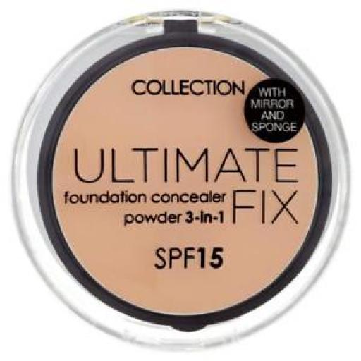 Collection Ultimate Fix Foundation Concealer Powder | Choose from 3 shades