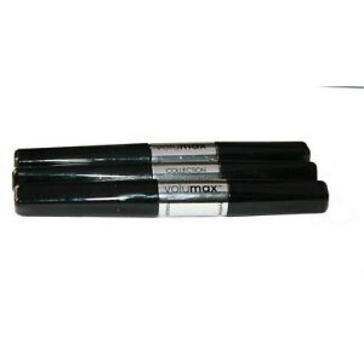 3 x Collection Volumax Mascara and Eyeliners | Ultra Black / Black | RRP £18 |