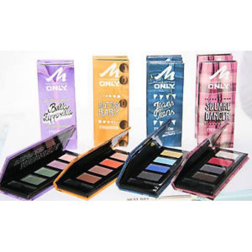 12 x Manhattan Quad Eyeshadow Palette Kits   4 Shades   Wholesale