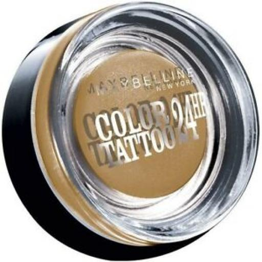 Maybelline Colour Tattoo 24hr Eyeshadow | 05 Eternal Gold |