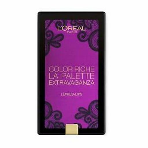 L'OrÈal Paris Color Riche La Palette | Extravaganza | Lip Palette