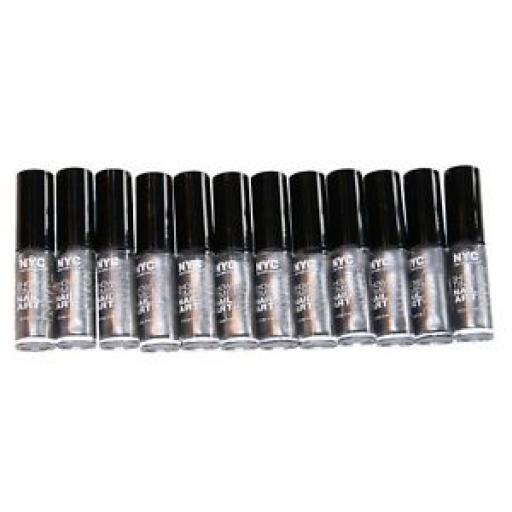 24 x NYC ShowTime Nail Art Creation colour Silverism | Wholesale |