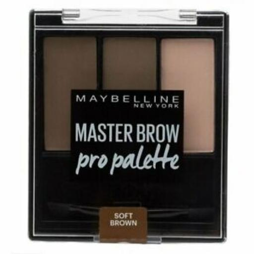 Maybelline Master Brow Pro Palette | Soft Brown | For Perfect Brows |